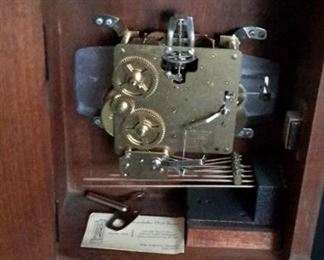 Ridgeway mantle clock. Needs service.