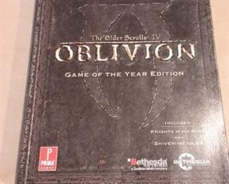 Skyrim The Elders Scrolls IV, Oblivion, Game of the Year Edition, like new.