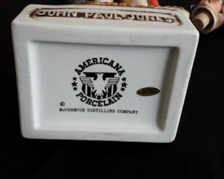 American Porcelain McCormick Distilling Company Decanters, with styrofoam boxes.