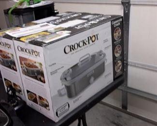 Two Crock Pots, in box.