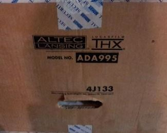 Altec Lansing, Lucasfilms THX home theater system, new in box!