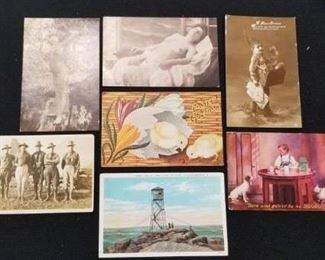 Vintage Postcard Lot - 4 of 4 pictures , lot of 39 cards