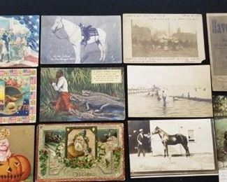 Vintage Postcard Lot - 2 of 4 pictures , lot of 39 cards