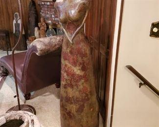Large Lady Statue