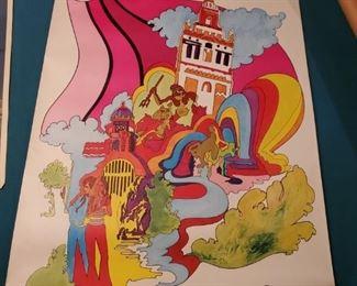 Fly TWA Kansas City Poster