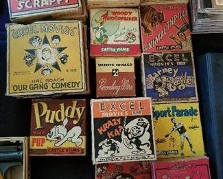 Vintage Reel-to-Reel Movies