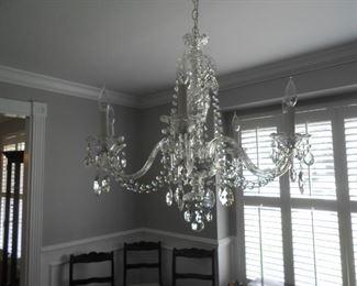 Czechoslovakian Crystal chandelier****Taking bids****