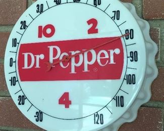 Dr. Pepper Bottle Cap Thermometer