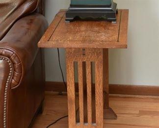 Mission Oak End Table