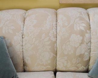 Elegant Damask Sofa