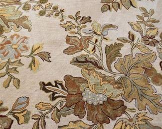 Contemporary Floral Area Rug