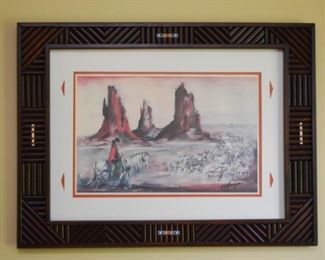 Framed Ted DeGrazia Artwork / Print