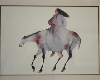 Framed Southwestern / Native American Artwork