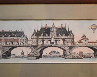 Framed Bob Holloway Lithograph, Signed & Numbered