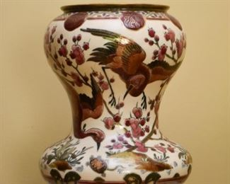 Chinese Porcelain Footed Vase