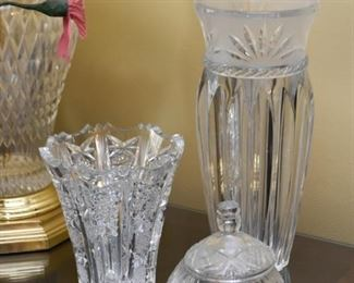 Crystal & Glass Vases, Candy Dish