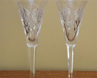 Waterford Crystal Champagne Flutes (Pair)