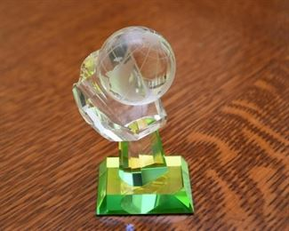 Crystal Miniatures - Globe in Hand