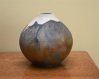 Art Pottery Vase, Signed