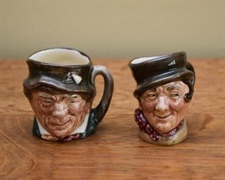 Miniature Toby Mugs