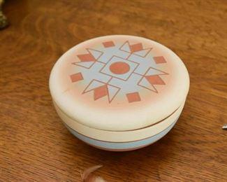 Southwest Pottery Trinket Box