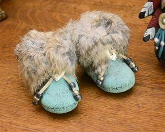 Native American / Southwest Moccasins Figurine