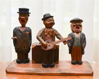 Folk Art Wood Carving / Sculpture