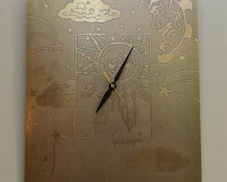 Metal Art Wall Clock (Jacob Rogers)