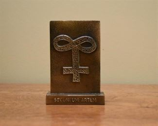 Latin Pharmacy Plaque / Paperweight / Sign
