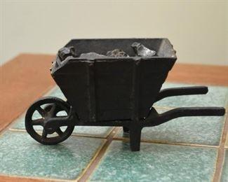 Cast Iron Coal Cart