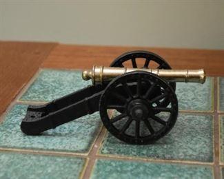 Metal Canon Figurine