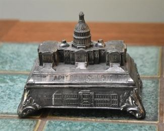 Metal Capitol Figurine