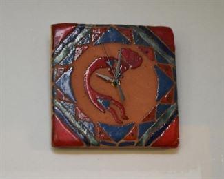 Southwestern Tile Clock