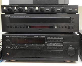 Yamaha CD Player & Receiver