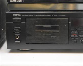 Yamaha Double Cassette Deck