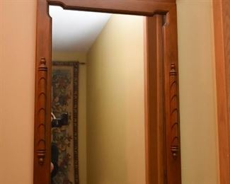 Vintage Wall Mirror with Eagle