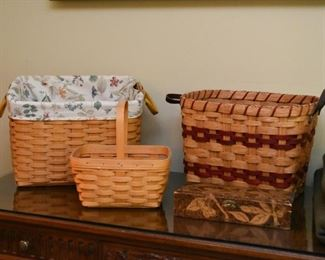 Baskets (Longaberger & Others)