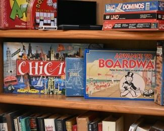 Board Games & Party Games (Chicago game is SOLD)