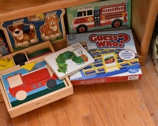 Children's Puzzles & Games