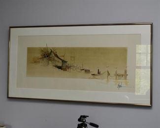 Framed Artwork, Signed