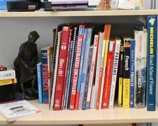 Books, Metal Statue