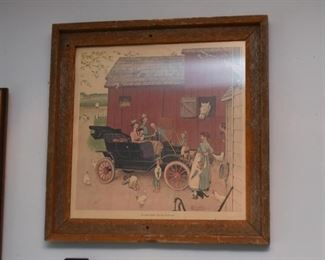 Vintage Framed Print