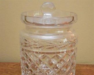 Waterford Crystal Biscuit Jar