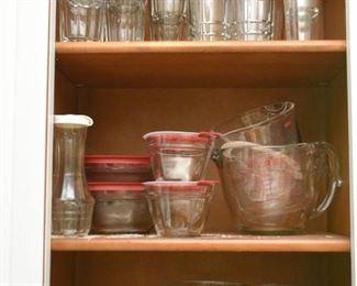 Glassware, Measuring Cups, Food Storage