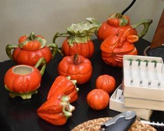 Vintage Bayreuth Bavaria Tomato China Pieces
