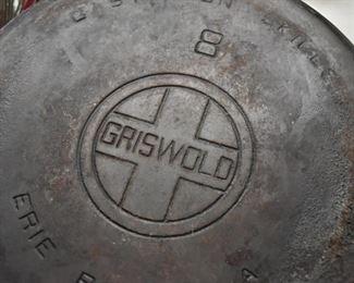 Cast Iron Skillets (Griswold)