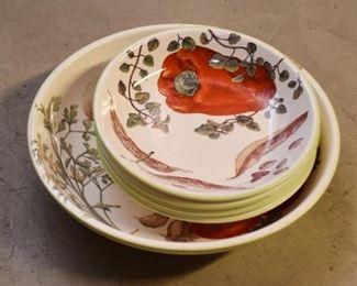 Pasta Bowls Set