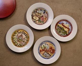 Set of 4 Cheese Plates