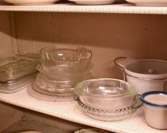 Glassware - Bowls, Platters & Baking Dishes
