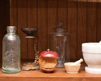 Bottles, Home Decor, Mortar & Pestles